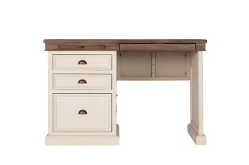 New Christy Painted Pedestal Desk Single