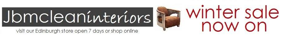 jbmclean interiors  , site logo.