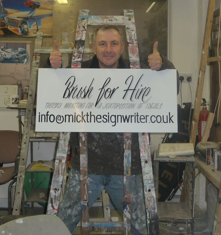 Mick Pollard Signwriter