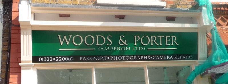 fascia - woods & porter gravesend
