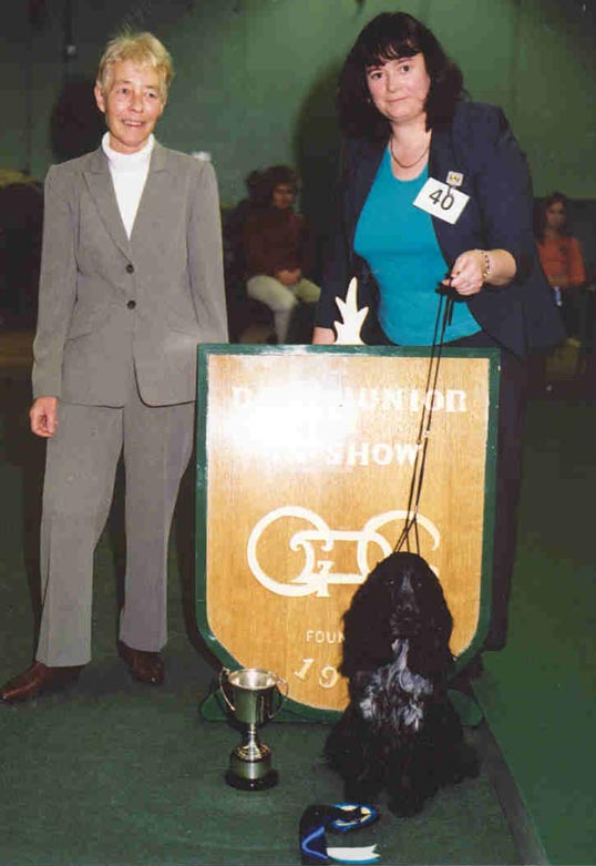 Douglas Best Junior in Show - Jan 03