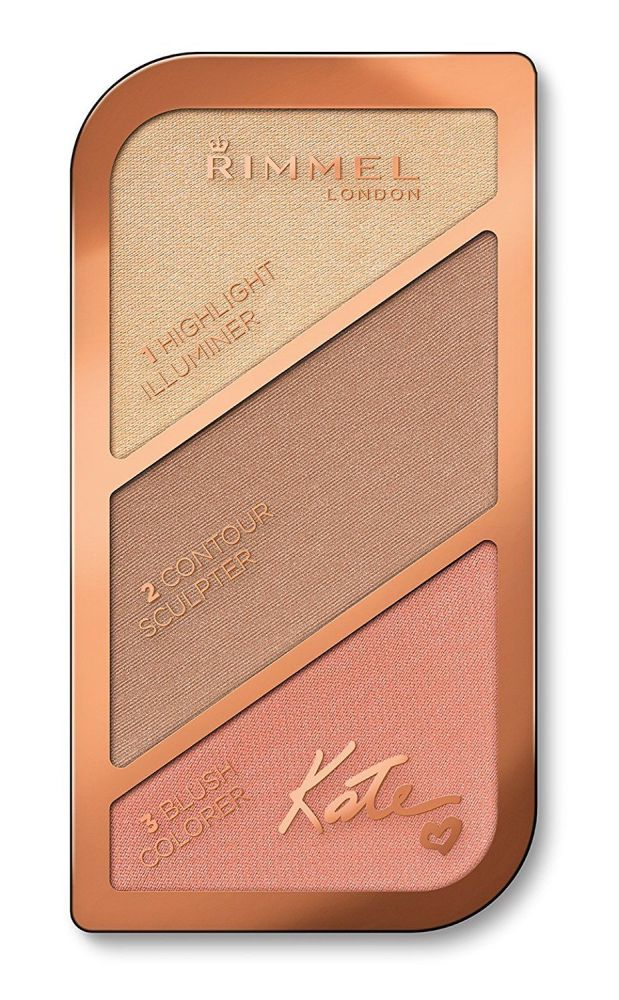Rimmel Fair to Medium Skin London Kate Sculpting Palette - Coral Glow - A