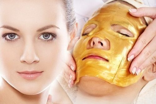 3 Pack - Gold Collagen Face Mask - Anti Aging, - A