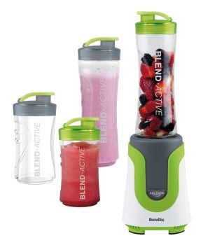 Breville VBL096 Blend-Active Personal Blender Family Pack - White/Green - A