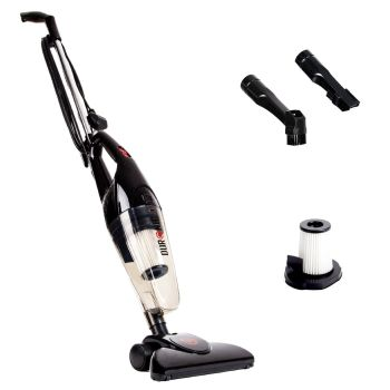 Duronic VC7 /BK HEPA Filter Bagless Upright Handheld Stick Vac Vacuum Cleaner - A