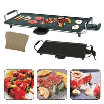 Electric Teppanyaki Grill, 2000 Watt - A