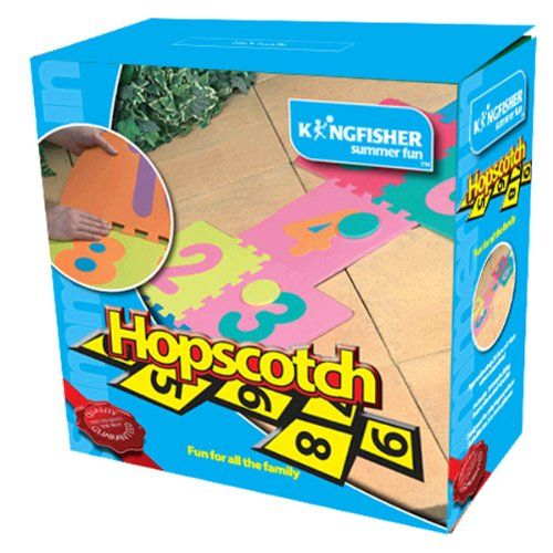 Hopscotch Garden Game - A