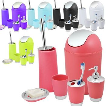 BATHROOM SET 6 PIECE ACCESSORY - AB