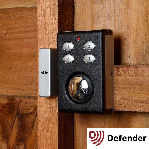 Defender Keypad Dual Function Alarm - Shock Sensor & Magnetic Contact Combo