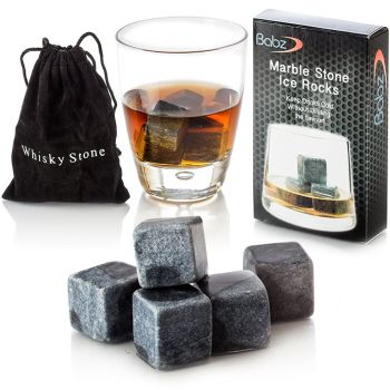 9 pce Whisky Stones Set - A