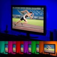 GloBrite Colour Changing 50cm 5v LED Strip USB TV, PC, Computer Sreen Back Light Lighting Kit - A
