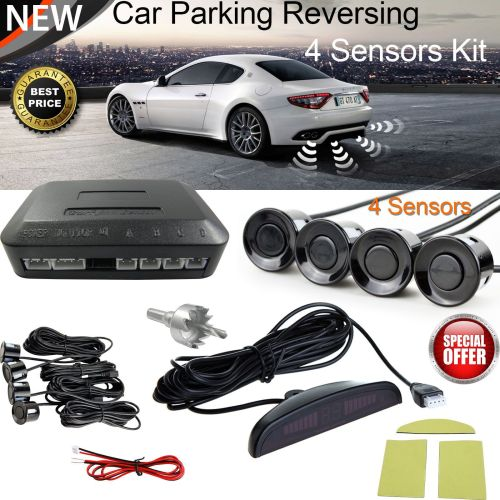 Car Reverse Parking 4 Sensors Reversing Kit With LED Display - AB