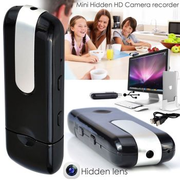 8GB Mini HD Video Hidden Spy Cam Camera DVR Camcorder Motion Detection With USB - AB