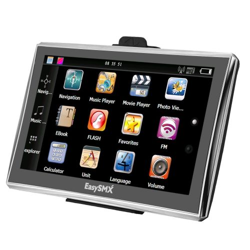EasySMX 7 Inch 8GB TFT LCD Touch Screen SAT NAV Rrp £129