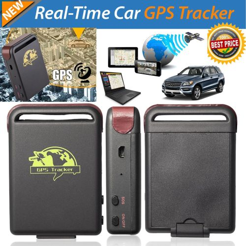 TK102 Car GPS Tracker Vehicle Real time Personal Tracking Spy Device- AB