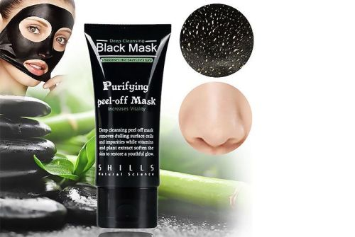 PILATEN TUBE - blackhead remover suction black mask - A