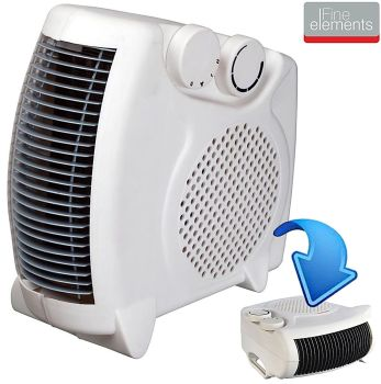 2000W PORTABLE SILENT ELECTRIC FAN HEATER HOT & COOL -  A