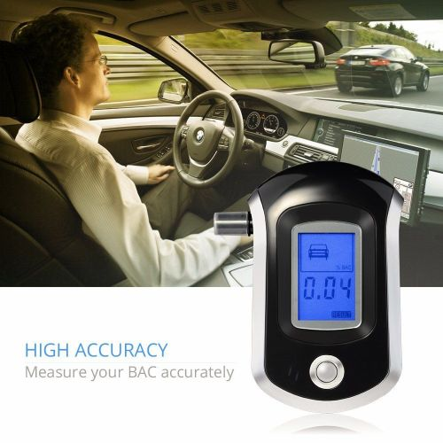 VicTop Breathalyzer with Semi-conductor Sensor and LCD Display - A