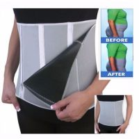 Sauna Slimming Belt Body Shaper Wrap Weight Loss Fat Burner Tummy Cellulite Burn - AB