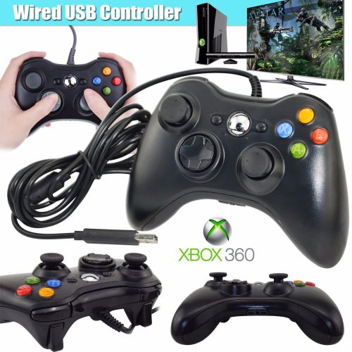 Latest Wired Controller USB Gamepad Joypad For Microsoft Xbox 360 PC Window