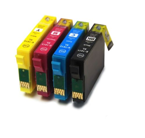 4 x Compatible Ink Cartridge for Epson