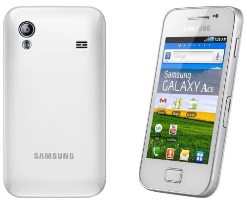 Samsung GALAXY Ace GT-S5830i - White(Unlocked) Smartphone Android Phone - A