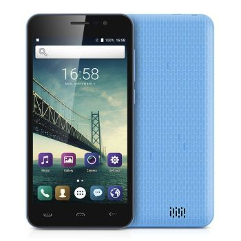 "Unlocked 3G Smartphone, 5.0"" HD Screen - Blue - AB"