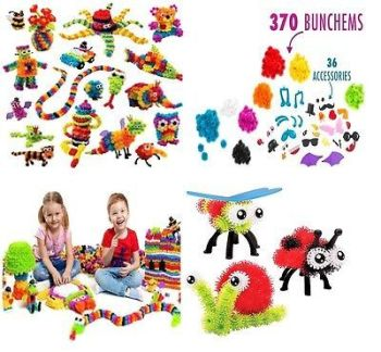 Kids Bunchems Mega Pack Over 400 Pieces - 3P Each - AB