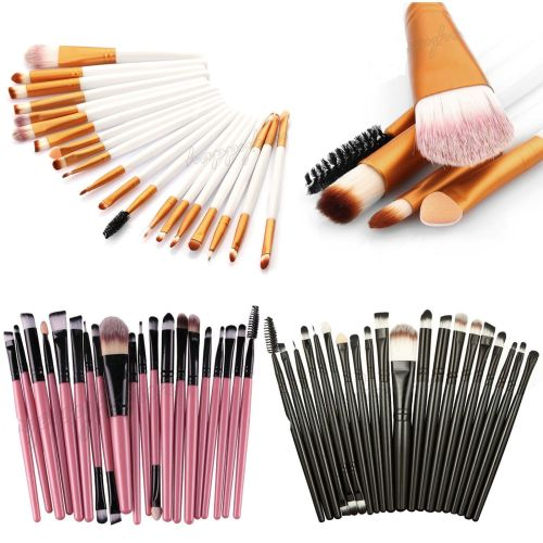 20PCS MAKE-UP BRUSHES SET EYE FOUNDATION EYESHADOW EYELINER EYEBROW MASCARA