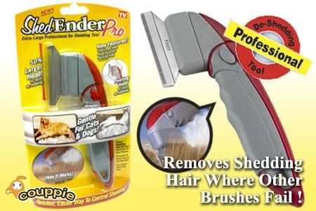 ShedEnder Professional Deshedding Tool For Pets