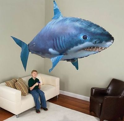 Remote Controlled RC Toy Air Flying Shark