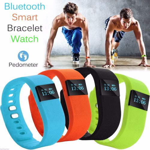 Smart Bracelet Pedometer Wristband Bluetooth Watch Activity Fitness Tracker