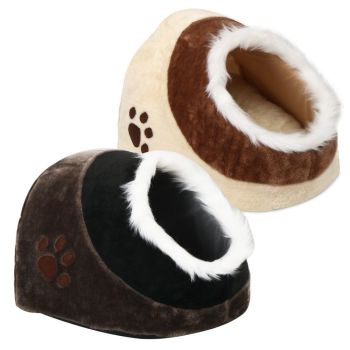 SOFT COSY CAT/DOG/PET BED IGLOO