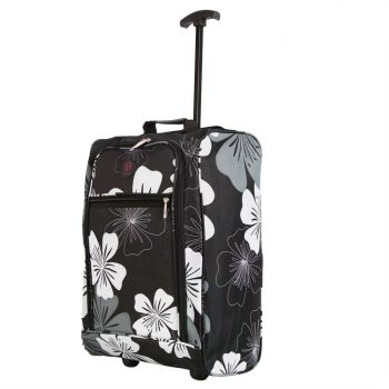 Cabin Approved Ryanair Hand Luggage Travel Holdall Wheeled Trolley Suitcase 01