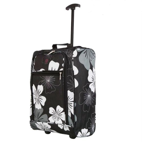 Cabin Approved Ryanair Hand Luggage Travel Holdall Wheeled Trolley Suitcas