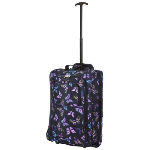 Cabin Approved Ryanair Hand Luggage Travel Holdall Wheeled Trolley Suitcase