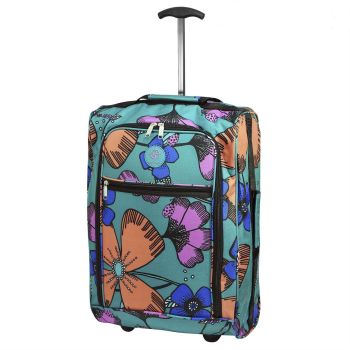 Cabin Approved Ryanair Hand Luggage Travel Holdall Wheeled Trolley Suitcase 04