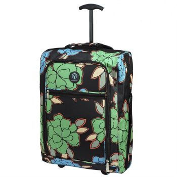 Cabin Approved Ryanair Hand Luggage Travel Holdall Wheeled Trolley Suitcase 02