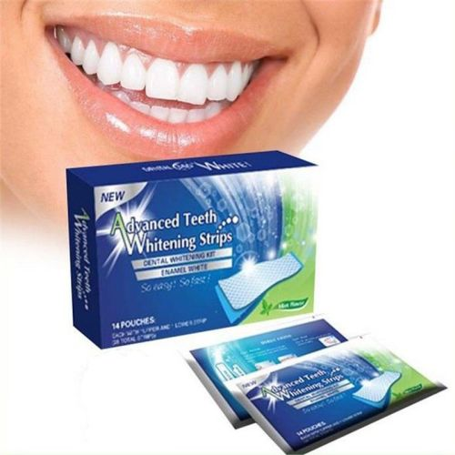 28 3D Professional Teeth Whitening Strips 1/2 PRICE