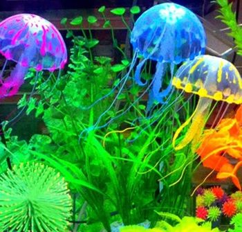 7.5cm Glowing Aquarium Fish Tank Decoration