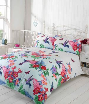 Duvet Cover with Pillow Case Quilt Cover Bedding Set - Humminbird