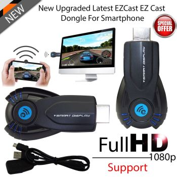 WiFi Ezcast Dongle HD Media Digital HDMI Streamer Chrome Cast for Netflix UK