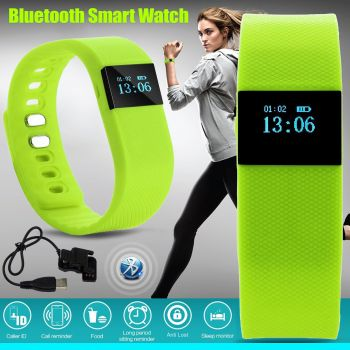 4.0 Bluetooth Smart Watch Smartband Sport Bracelet Tracker Wristband Pedometer