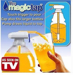Portable Magic Tap Electric Automatic Water Juice Drink Beverage Dispenser