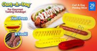Curl-A-Dog Spiral Slicer AS SEEN ON TV Gourmet Tasting Hot Dogs In Retail Box