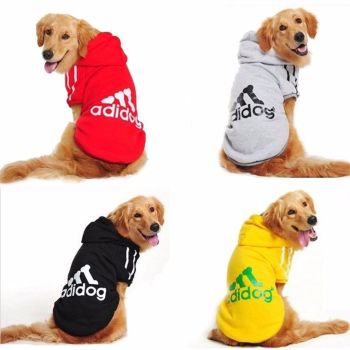 Adidog Hoodie Cute Pet Warm Sweater Coat