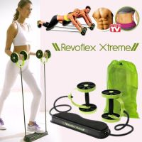 REVOFLEX XTREME TOTAL BODY FITNESS GYM ABDOMINAL RESISTANCE EXERCISE ABS TRAINER