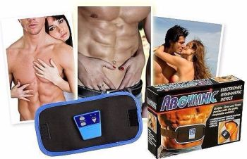 GYMNIC ABS ELECTRONIC BODY MASSAGER BELT WITH 100ML GEL