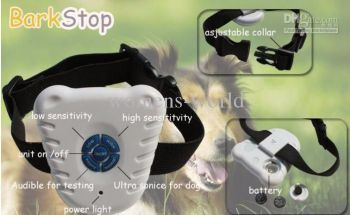 Dog Stop Barking Training Collar Ultrasonic Sound