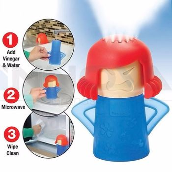 Microwave Cleaner Angry Mama Microwave Oven